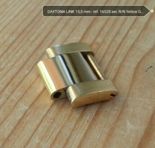 偽 ブランド 時計 rolex 激安 ROLEX Oyster link Yellow gold 15,5 mm Daytona R/N series original like NEW *30.1